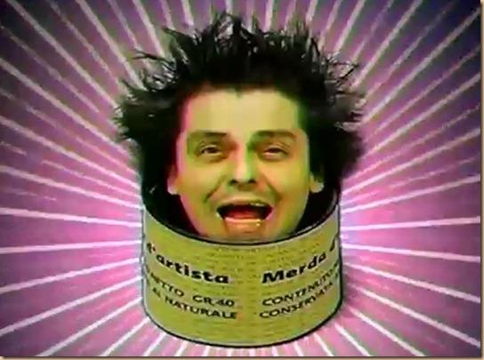 Freak Antoni dentro scatola Merda d'artista