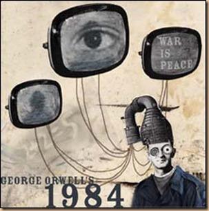 1984 Orwell teleschermi