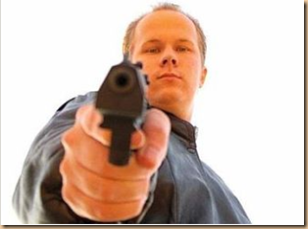 Pistola puntata - minaccia Report Gabanelli