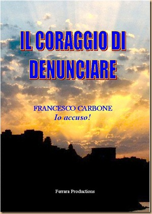 Io accuso - copertina libro Francesco Carbone