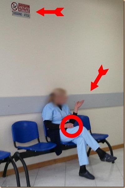 Giarre ospedale violazione legge fumo Uribu r80