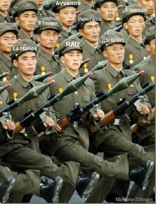 media italiani PEGGIO nord-coreano - ritaglio