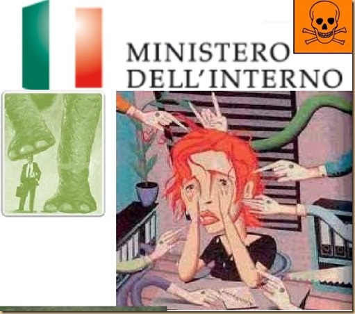Ministero della Vessazione - Giuliano Amato Roberto Maroni - Italy violence bullying backwardness ignorance code of silence mafia pizza mandolino