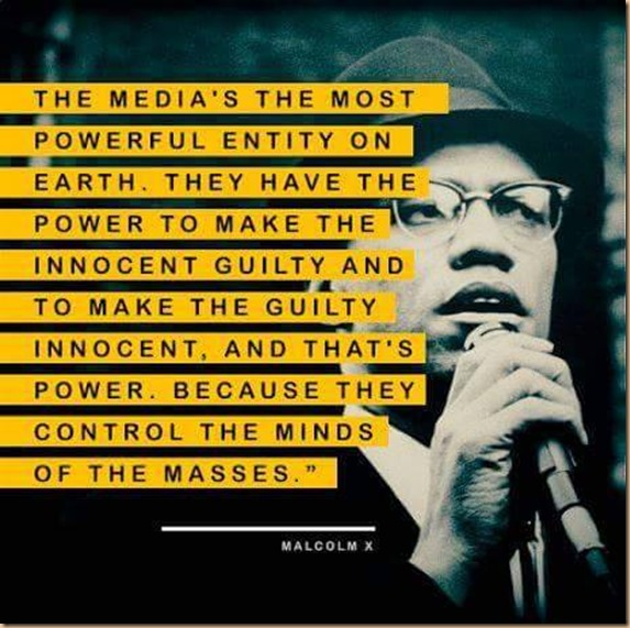 Malcom X against the media