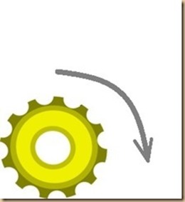 ingranaggio separato artificialmente - clockwise_thumb