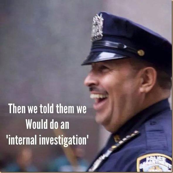internal investigation - ahahahaha