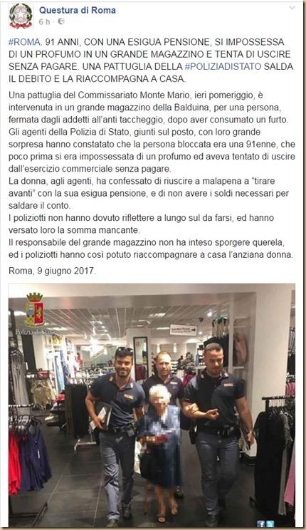 Legalità all'italiana - questura di Roma
