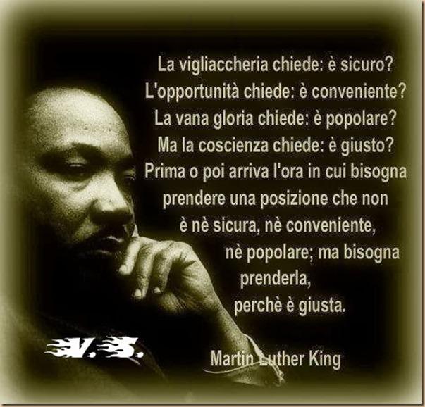 ML King - prender posizione perché è GIUSTO