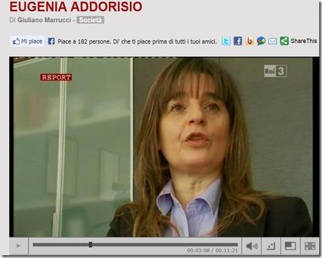 Report - Eugenia Addorisio vessata e aggredita ASL Foggia ispettrice lavoro
