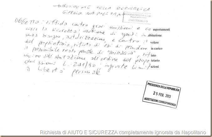 59-2 PdR Napolitano Diffida gravi omiss ricevuta - bis - testo completato