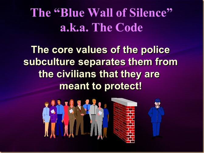 Blue code of silence 5