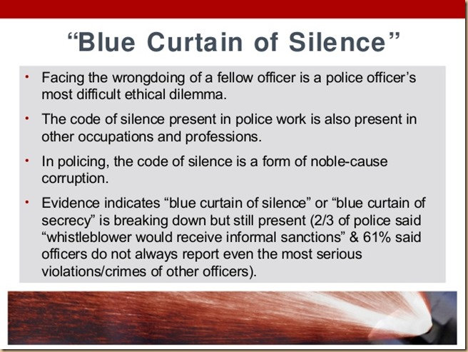 Blue code of silence 6