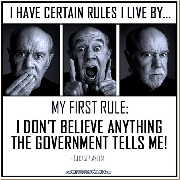 don't believe in government