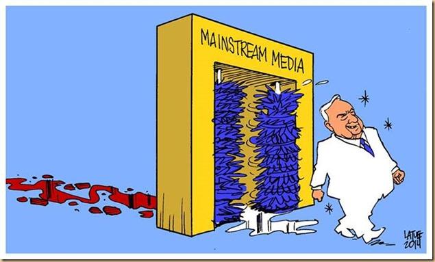 giornalisti-media RIPULISCONO immagine delle persone