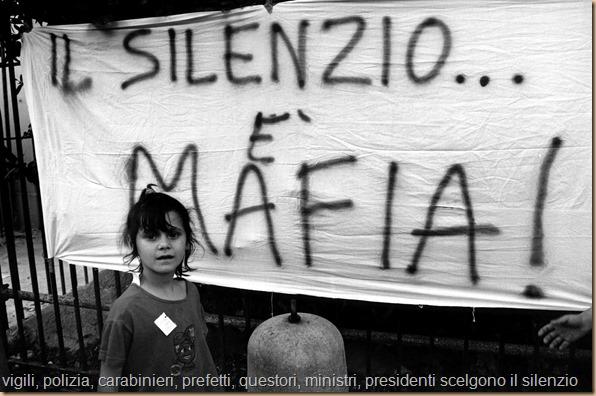 Napolitano PER - silenzio è mafia