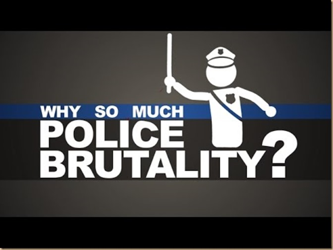 why so much police brutality
